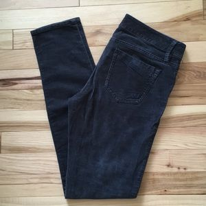 Express Gray Corduroy Jeans